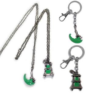 英雄联盟LOL魂锁典狱长锤石情侣项链钥匙扣游戏锁匙扣合金属饰品