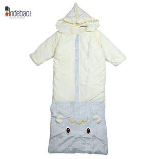 【新货包物流】婴得宝童装 呆萌小象厚棉可脱胆加长睡袋Y55807