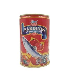 古龙茄汁沙丁鱼(红)425g辣味单听