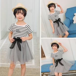 2017新款潮流舒适公主裙韩版裙子女童连衣裙QT902-16002P40