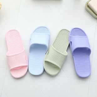 女夏季居家室内防滑浴室拖鞋超轻无味软底情侣家居塑料洗澡凉拖鞋