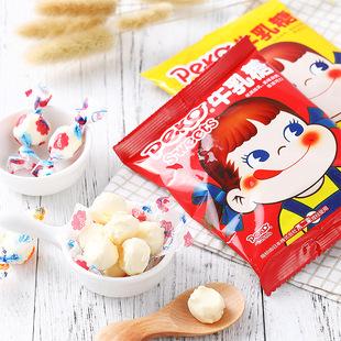 不二家peko牛乳糖20g 原味/芒果味儿童糖果【猫趣】