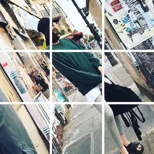 阿希哥卫衣女套头无帽2017秋装新款洋气邮电绿运动长袖上衣
