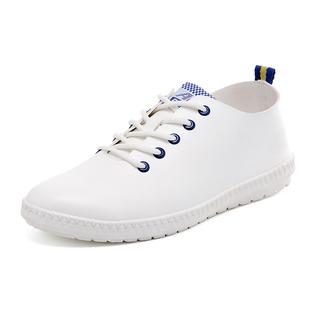 2017A белый внизу тенденция корейских Superstar мужчин рукав ноги моды студентов низкий чистка 750-P30 мужская обувь