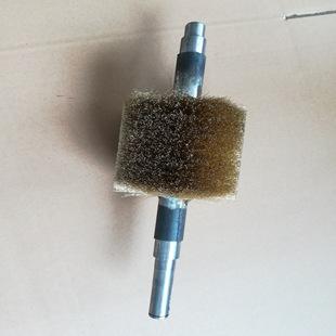 纺织棍刷 钢丝刷棍 除尘毛刷棍