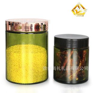 玻璃瓶 玻璃储物罐 玻璃储藏罐  茶叶罐 玻璃包装容器 玻璃瓶厂家
