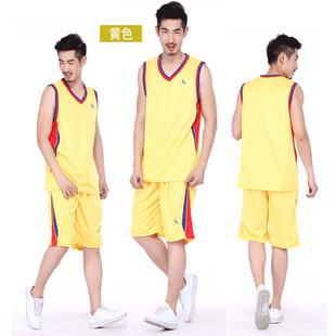 球服运动服男士夏季大码男士纯棉休闲健身跑步篮球服背心短裤套装
