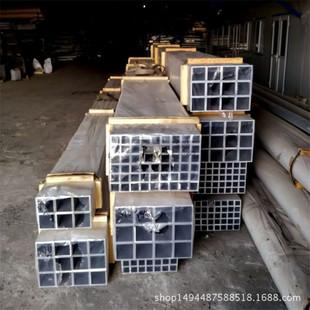 工业铝方管圆管铝型材生产厂家 氧化加工表面处理铝方管工业管批