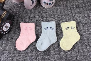 2017年秋季新品 尼多熊童袜专卖 8651 透气舒适单袜 网袜 宝宝袜