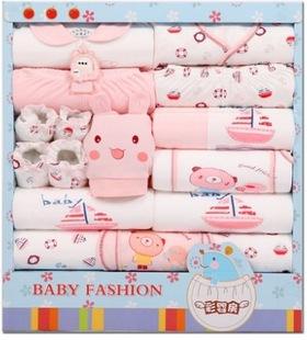 весна, лето, осень, зима новый хлопок детские одежда новорожденных ребенок только родился коробки костюм от матери к ребенку, белье