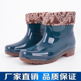 增峰鞋业 女士短筒水鞋 防滑防水短筒雨鞋 厂家生产批发出售