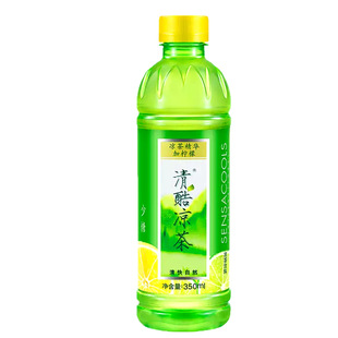 清酷凉茶加柠檬350ml单瓶