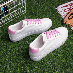 DDOO2017秋季新款小白鞋韩版百搭休闲白色板鞋学生平底运动女6722