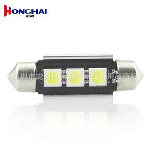 автомобильная шина CAN светодиодные светильники машину двойной указал 36mm39mm3smd автомобильной светодиодные светильники декодирования лампы для чтения