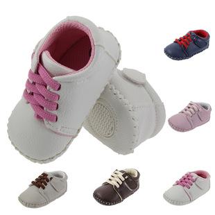 外贸原单胶片防滑软底可调节松紧带婴儿运动鞋宝宝学步鞋 rm128