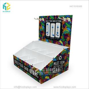 私人定制手机配件挂钩纸展示盒手机壳桌面展示陈列盒免费设计打样