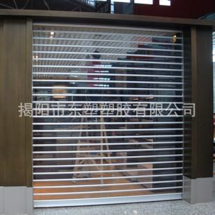 厂家直销卷闸门水晶片长条/直条全新材料PC-100 1.3厚  100米