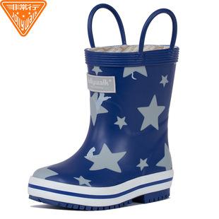 儿童雨鞋男童女童宝宝水靴公主防滑胶鞋学生幼儿卡通雨衣水靴秋冬