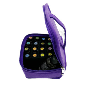 新款精油收纳包紫色多色防摔防震随身包20格+1多特瑞精油适用