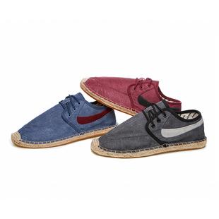 Ма японских мужчин ретро туфли холст обувь мужская обувь обувь досуг льна дыхания (не ниже, чем S296P55 68)