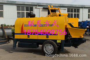 高楼混凝土输送泵优质细石混凝土泵远距离输送泵S阀混凝土输送泵
