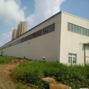 出售潍坊精品钢构厂房 带8台行车二手钢结构厂房 旧库房