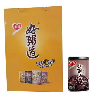 银鹭好粥道营养粥280g*12黑米味单盒