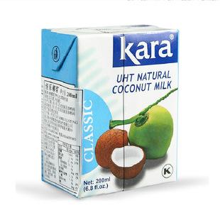 Индонезия импорт Кара Пискун кокосовое молоко для одной коробки