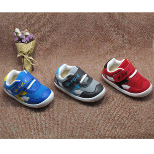 2017伢芽小童秋季宝宝鞋新款婴儿软底学步鞋男童女童叫叫鞋批发