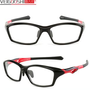 微古仕TR90运动眼镜户外骑行眼镜架 近视镜框