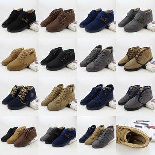 冬季新款男棉鞋 齐码加绒加厚中帮大棉男鞋批发 杂款棉鞋新鲜货