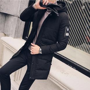 可拆卸真毛领长款棉衣棉服D303-M28-p205(不要毛领减20元)