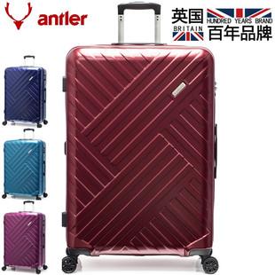 安特丽万向轮拉杆箱拉链行李箱20寸礼品定制旅行箱耐磨厂家直销