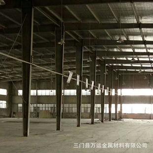 出售浙江一万平二手库房 旧钢结构库房 带行车二手厂房