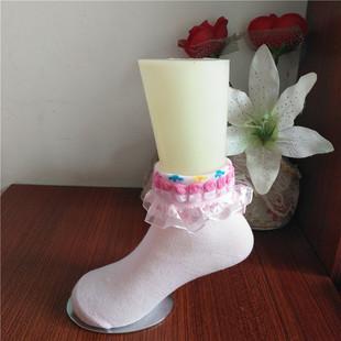 厂家批发春夏款 蕾丝花边儿童袜 舞蹈袜 库存批发