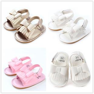 【包邮】【三色可选】夏季新款婴儿凉鞋学步鞋童鞋流苏防滑胶底