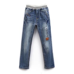 男童韩版牛仔裤  尺码:120-170 正码:建议身高:12