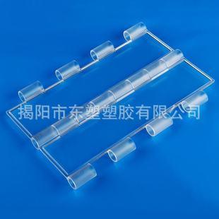 直边16管专用 厂家直销 优质透明水晶片 卷闸门片 PC门片 A16H3.0