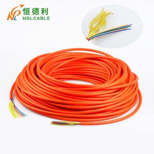 束状多模光缆电信级光纤软光缆GJFJV厂家直销4芯室内非金属配线