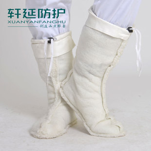 питание калоши лайнер бахилы хлопок мужчин и женщин калоши тепло плюс носки хлопка и кашемир сапоги рукав высокого ствол сапоги с хлопком
