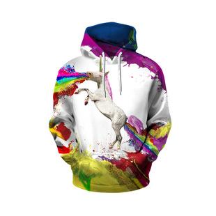 批发代购ebay速卖通外贸男士新款时尚卫衣 3D印花个性运动卫衣合