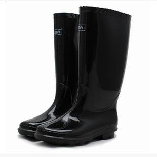 现货供应 回力防雨胶鞋 黑色高筒耐磨防滑水鞋 透气耐穿雨靴