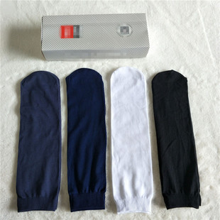 夏季新款盒装男士丝袜电商爆款透气凉爽男丝袜中筒多色商务男袜