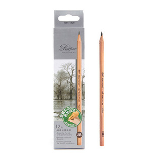 马可高级绘图铅笔7001-12CB   2B黑色单盒
