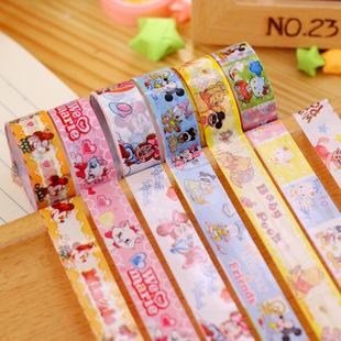 феникс AJ-5 Корея канцелярские мультфильм ленты оптовой детей ленты цветной маленький ленты прямых производителей
