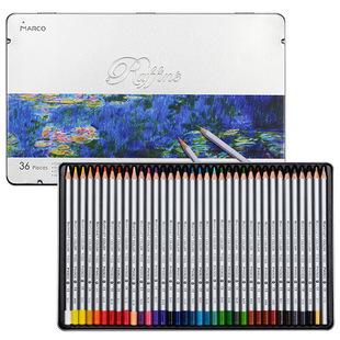 马可马可高级专业彩色铅笔7100-36TN标准36色单盒
