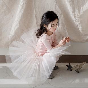 佛山加工韩国童装贴牌生产宝妈定制儿童服装免费打样版网纱裙