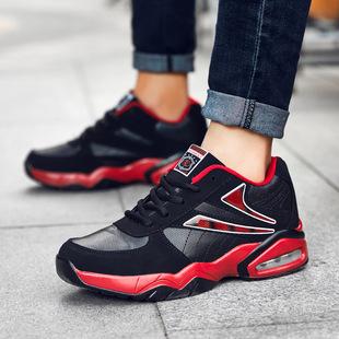 跨境亚马逊情侣款大码45男女运动鞋气垫耐磨减震透气篮球鞋速卖通