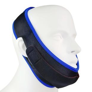 美容瘦脸面罩 双层止鼾面具 防止打呼噜打鼾下巴托带 三角止鼾带