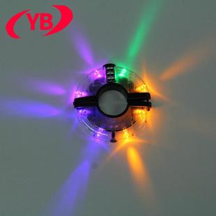 新款自行车UFO花鼓灯 警示灯 风火轮 装饰灯 骑行装备骑行用品